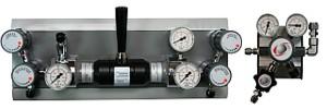 Zentrale Gasversorgung für Reinstgase